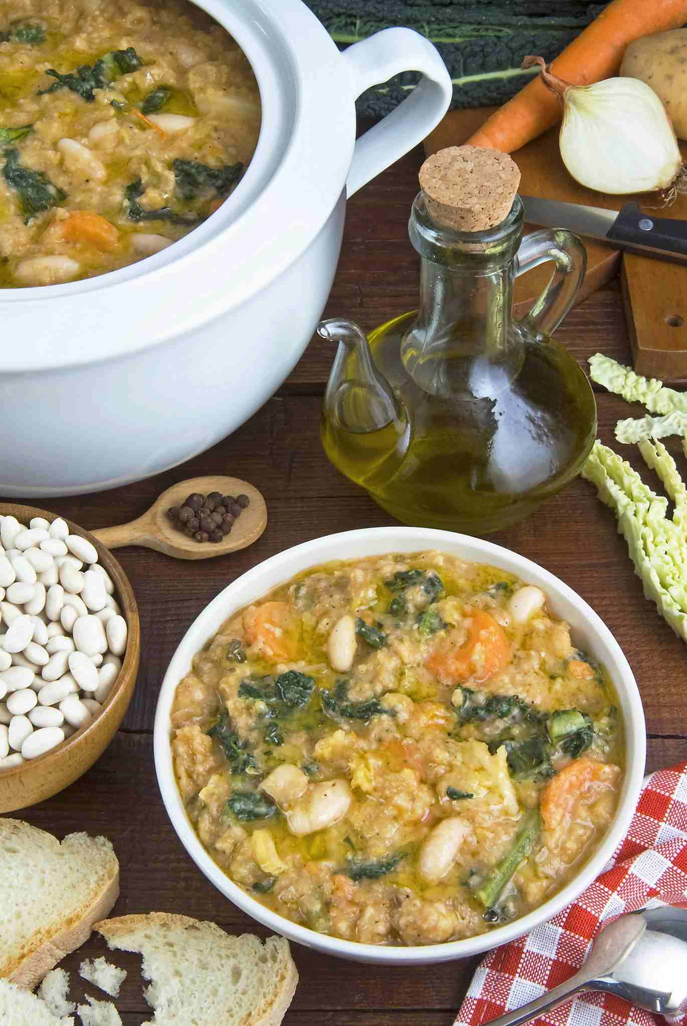 Ribollita, A Classic Tuscan Winter Soup