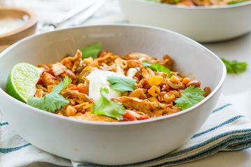 Slow Cooker Chicken Chili Recipe