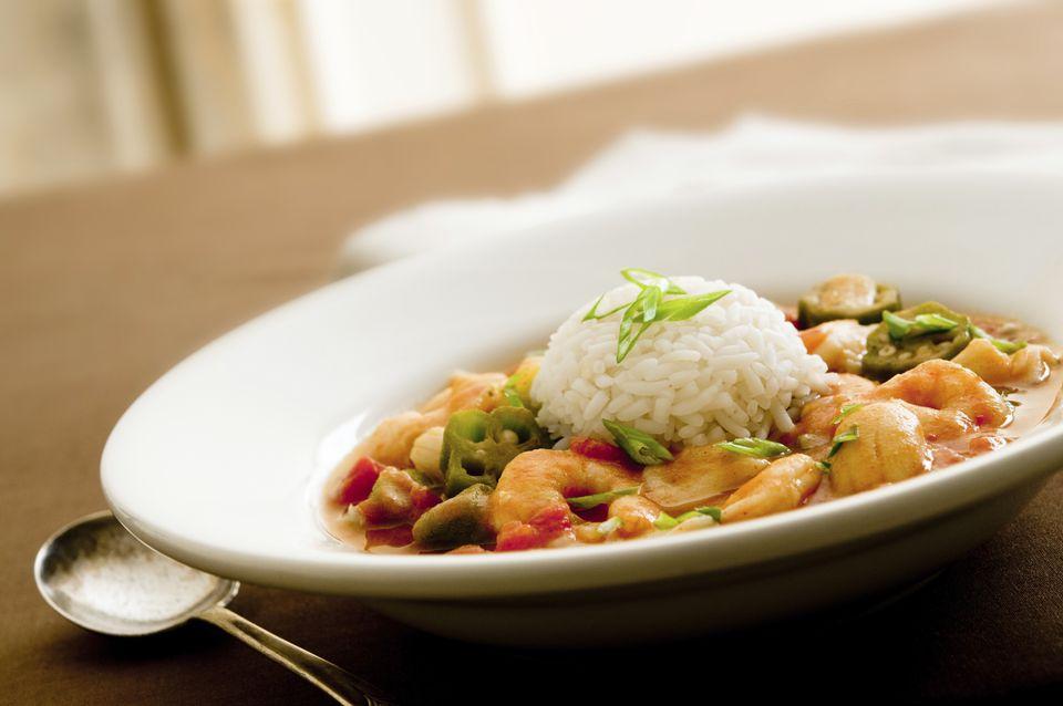 Caribbean, Cajun Gumbo, Shrimp Stew Recipe