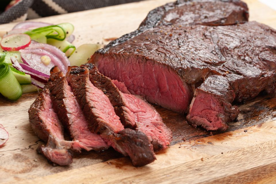 Marinated top round steak recipe