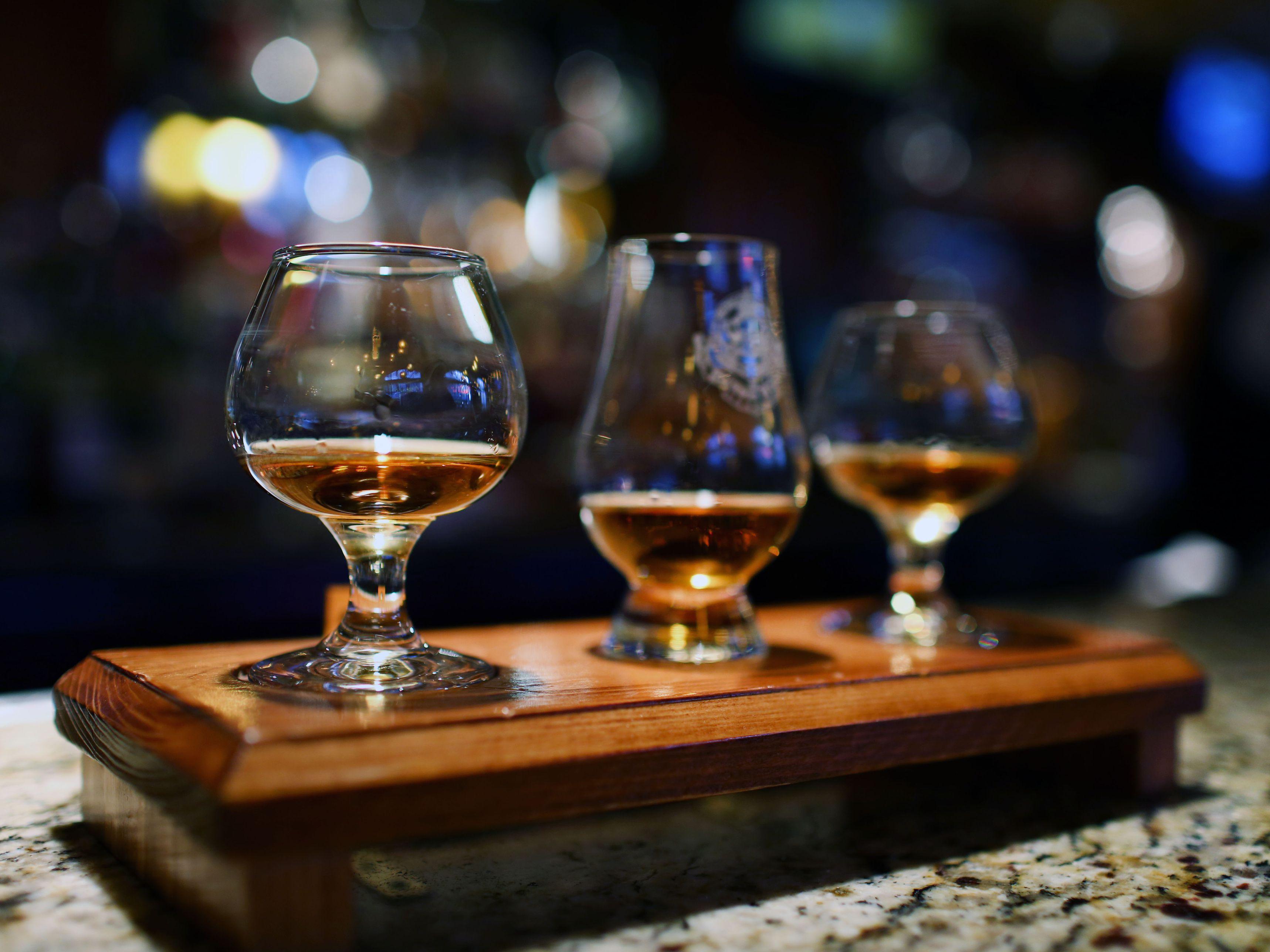 Jack Daniels Double Shot Glass Black