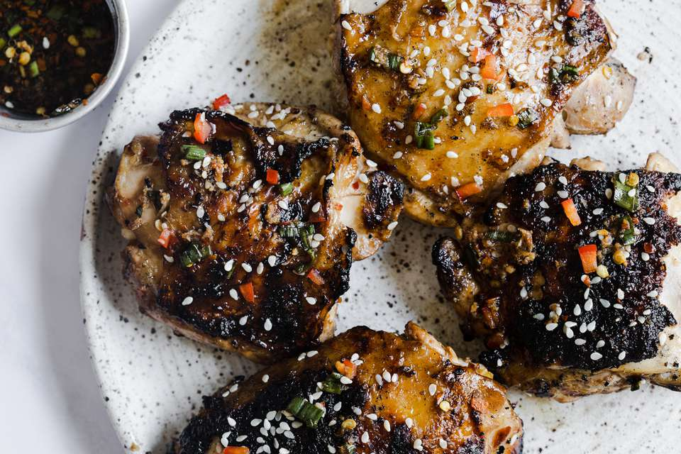 Marinated Ginger Chicken for the Grill