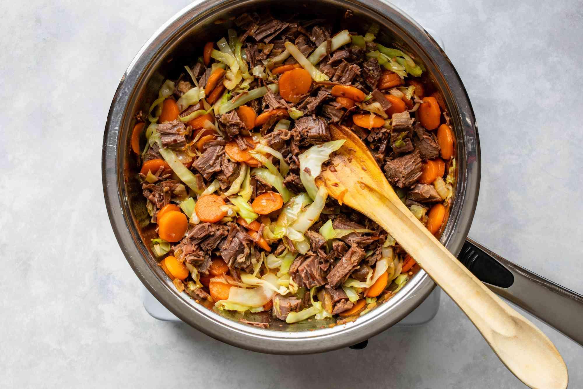 Add corned beef