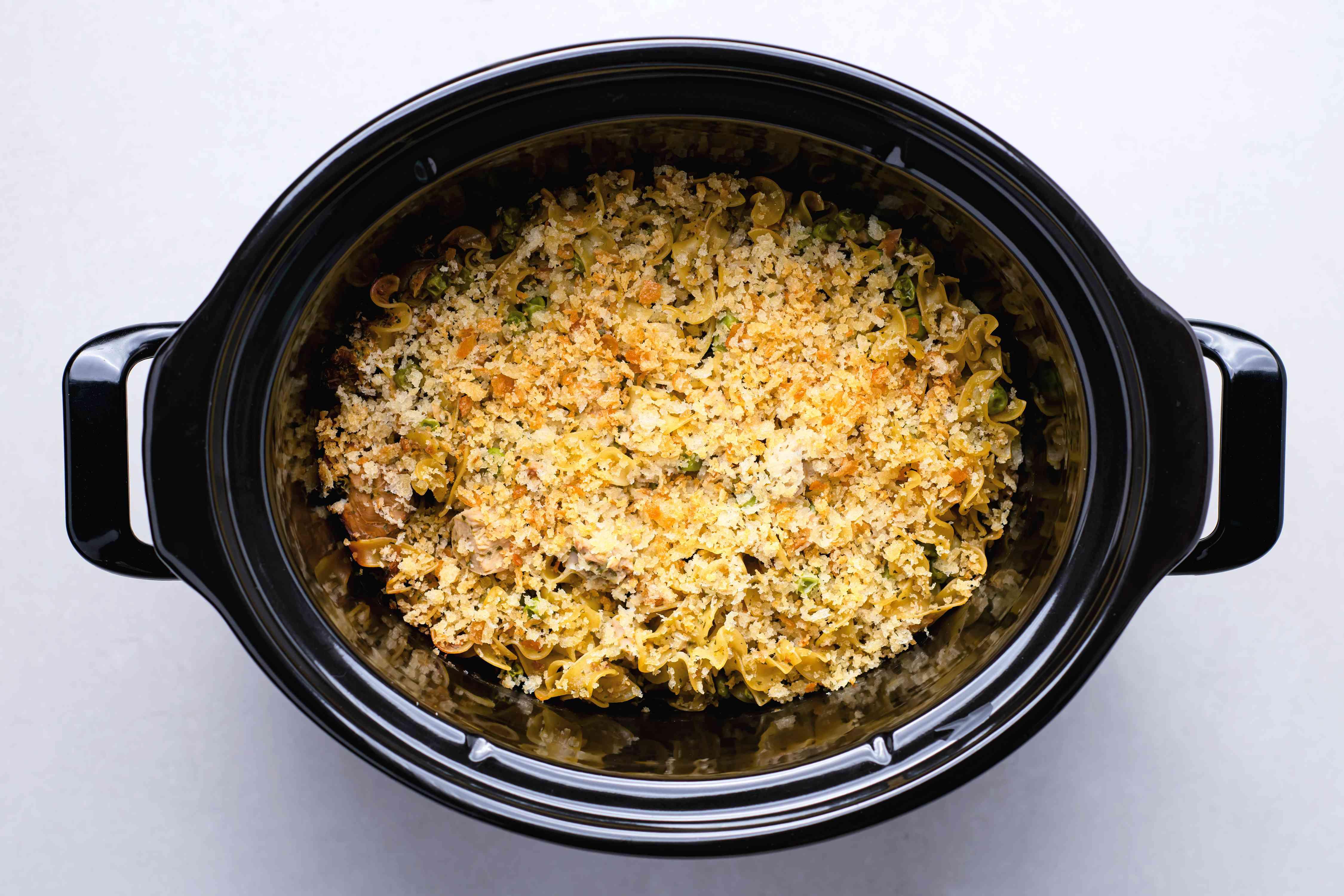 Crock Pot Tuna Casserole