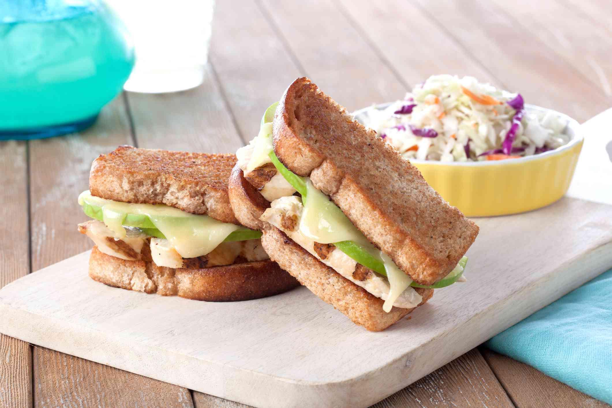 Chicken apple sandwich