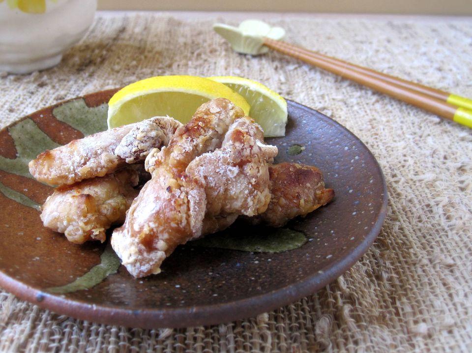 Baked Chicken Karaage