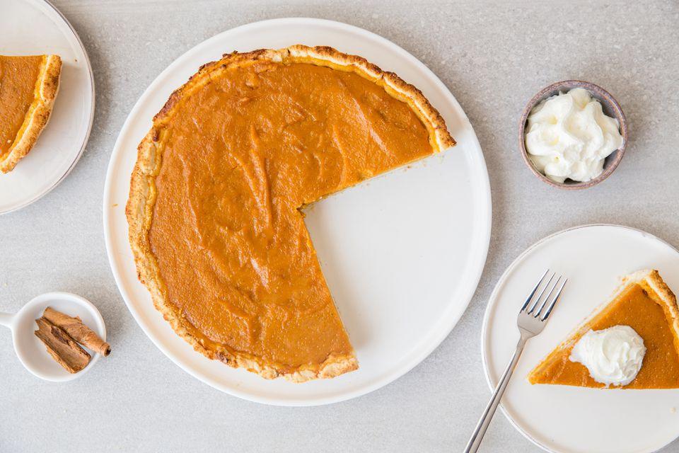 Dairy-Free Gluten-Free Pumpkin Pie