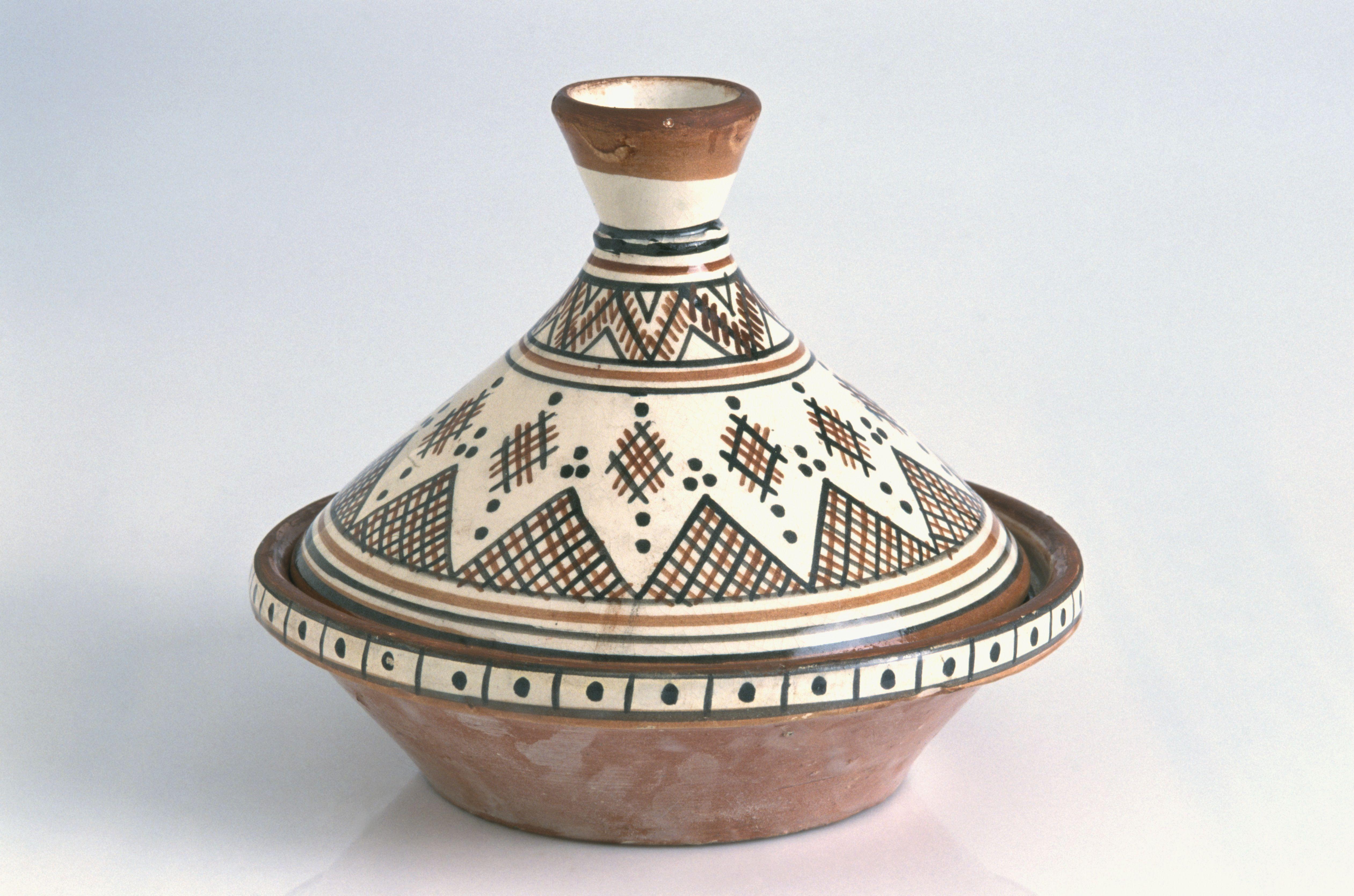 Moroccan tajine dish