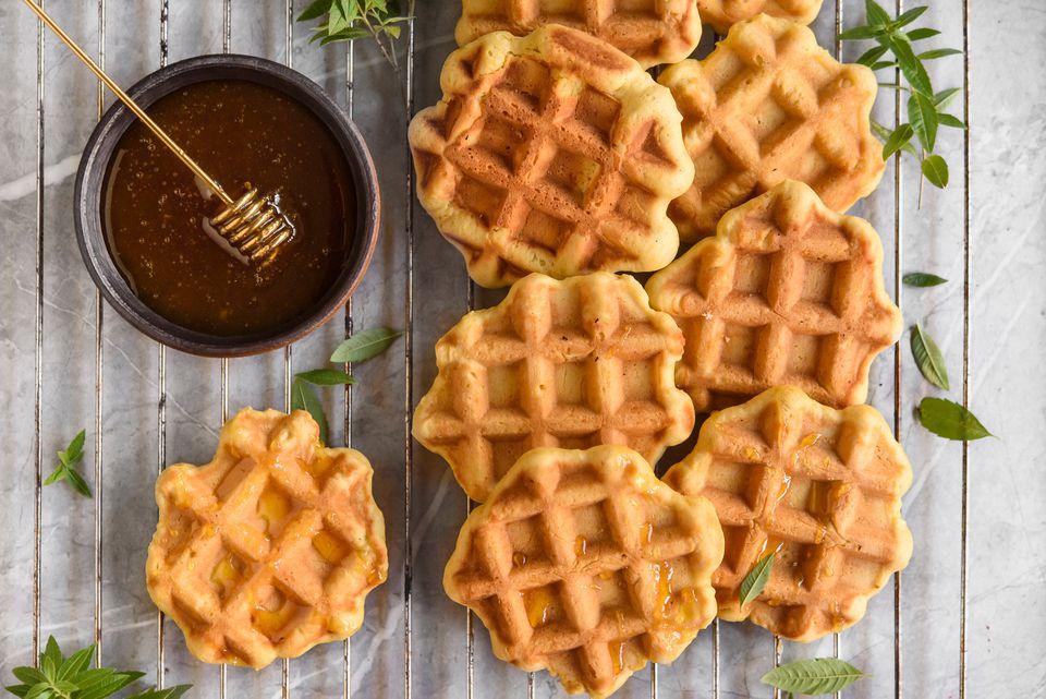 waffle cookies from Belgium