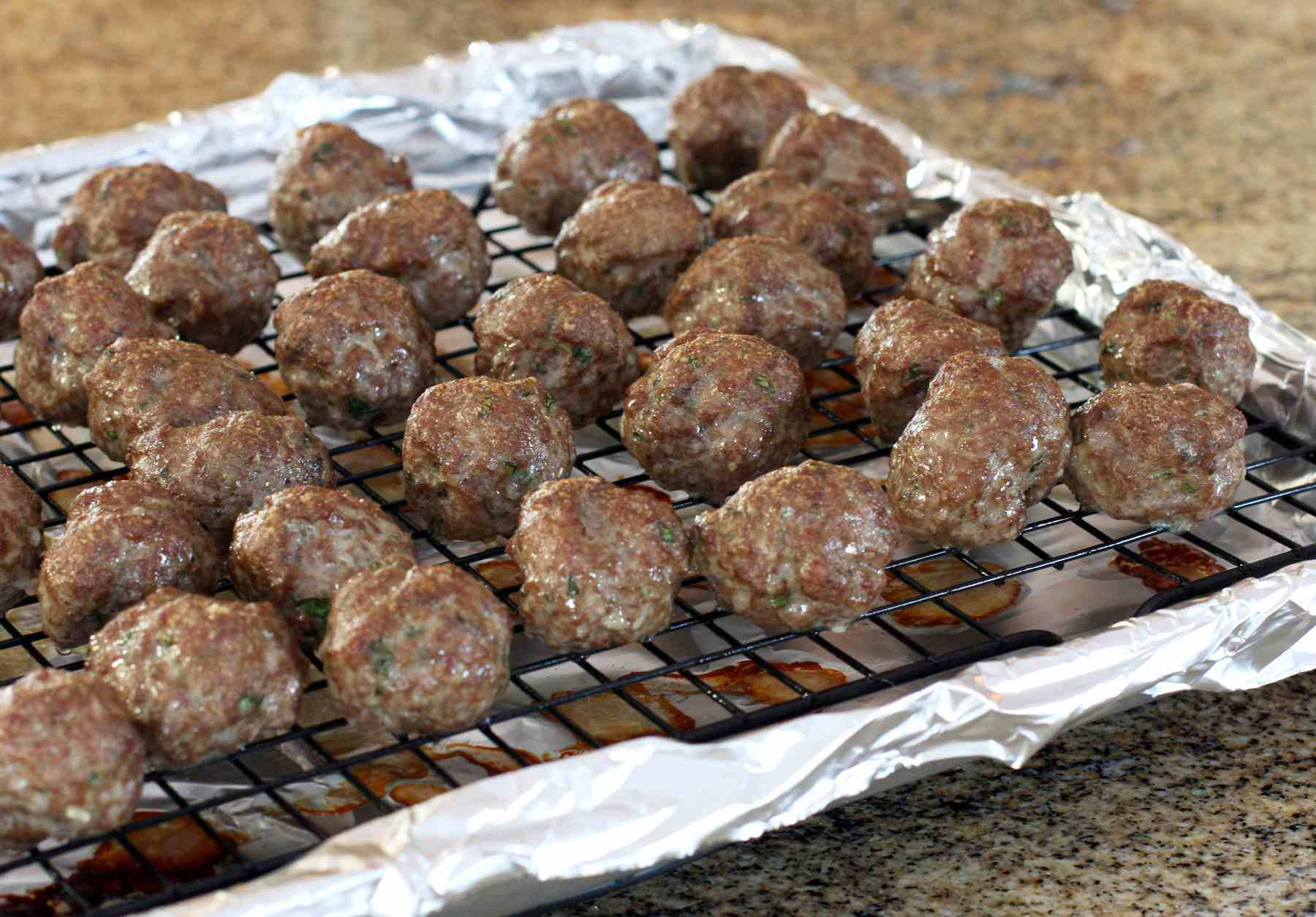 Easy Meatballs With Herbs