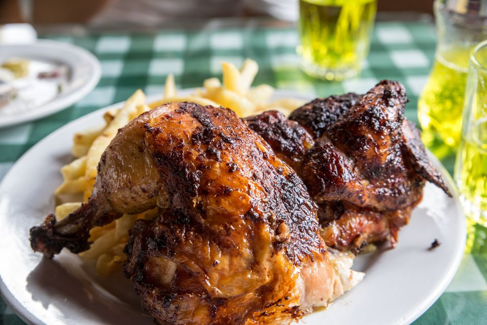 Pollo asado peruano