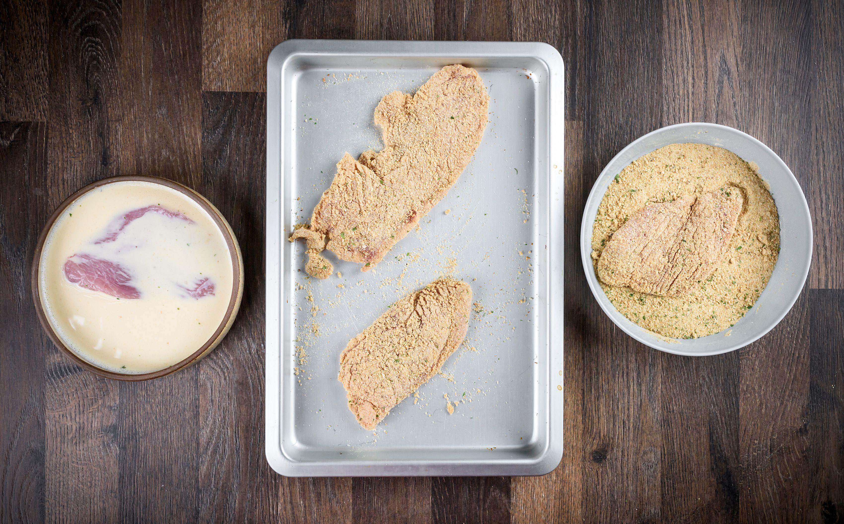 Turkey Cutlet Parmesan Recipe