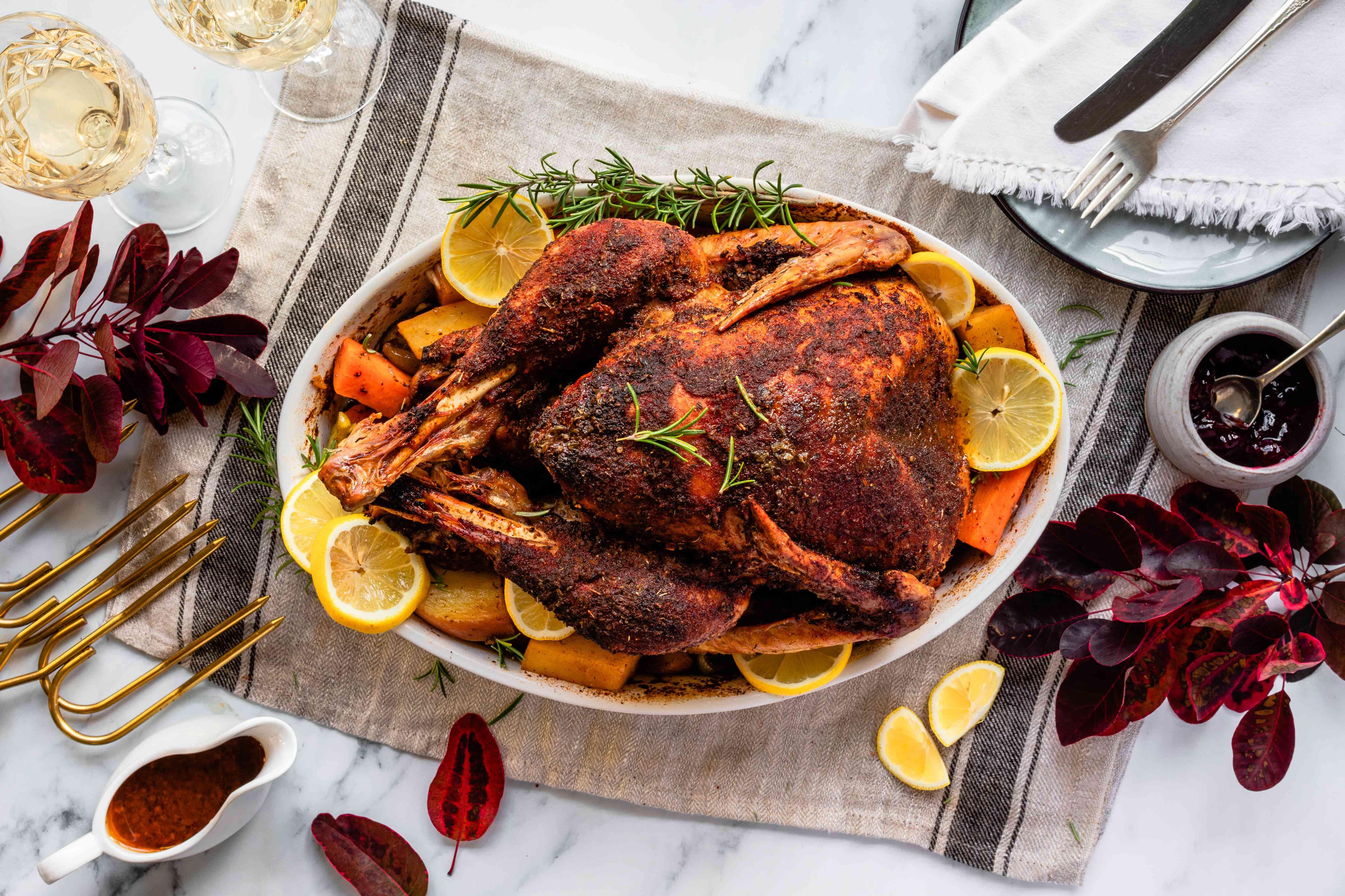 Serve turkey