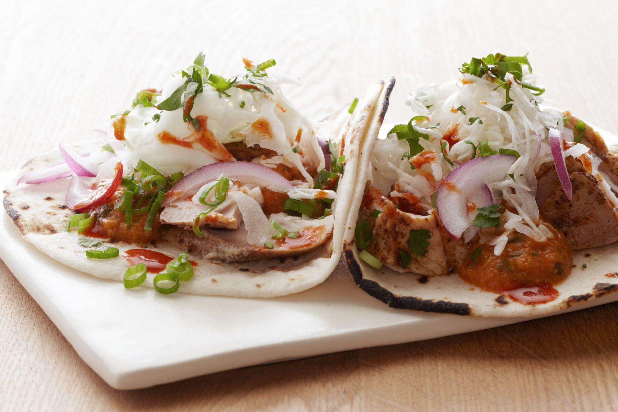 Bobby Flay's Fish Tacos Recipe