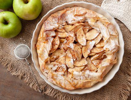 Apple phyllo pie recipe