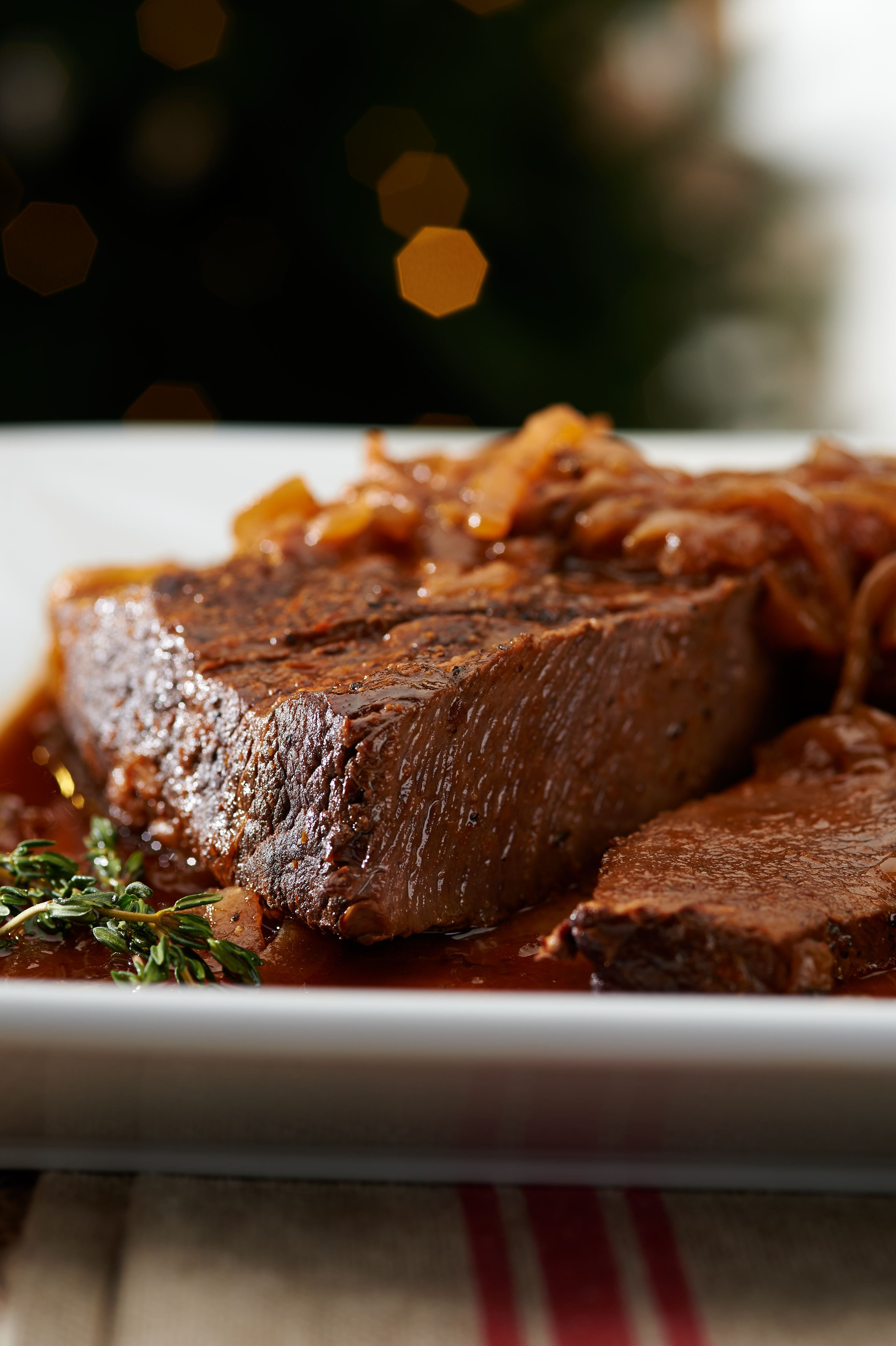Slow Cooker Brisket Recipe With Caramelized Onions