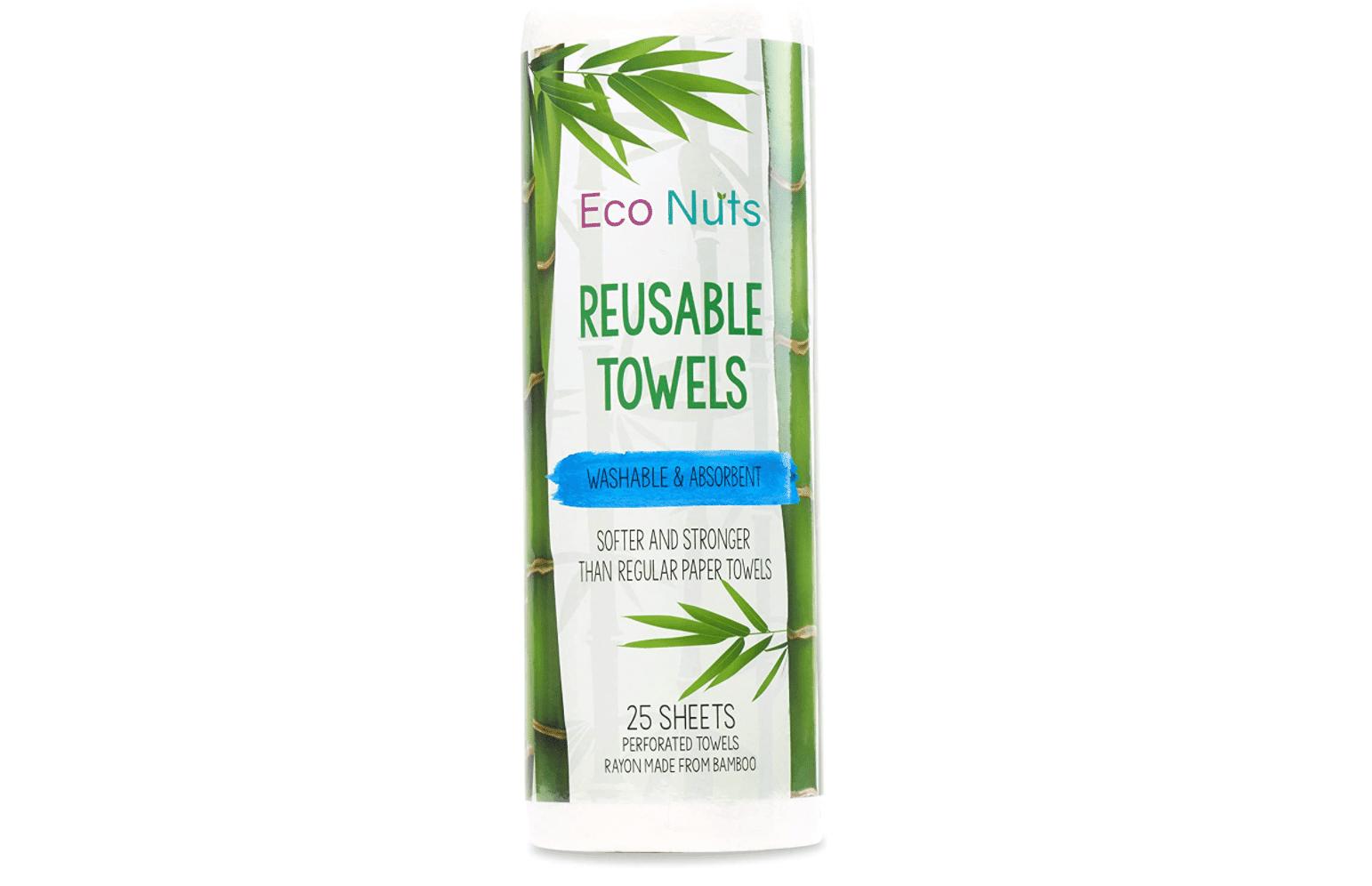 eco nuts reusable towels