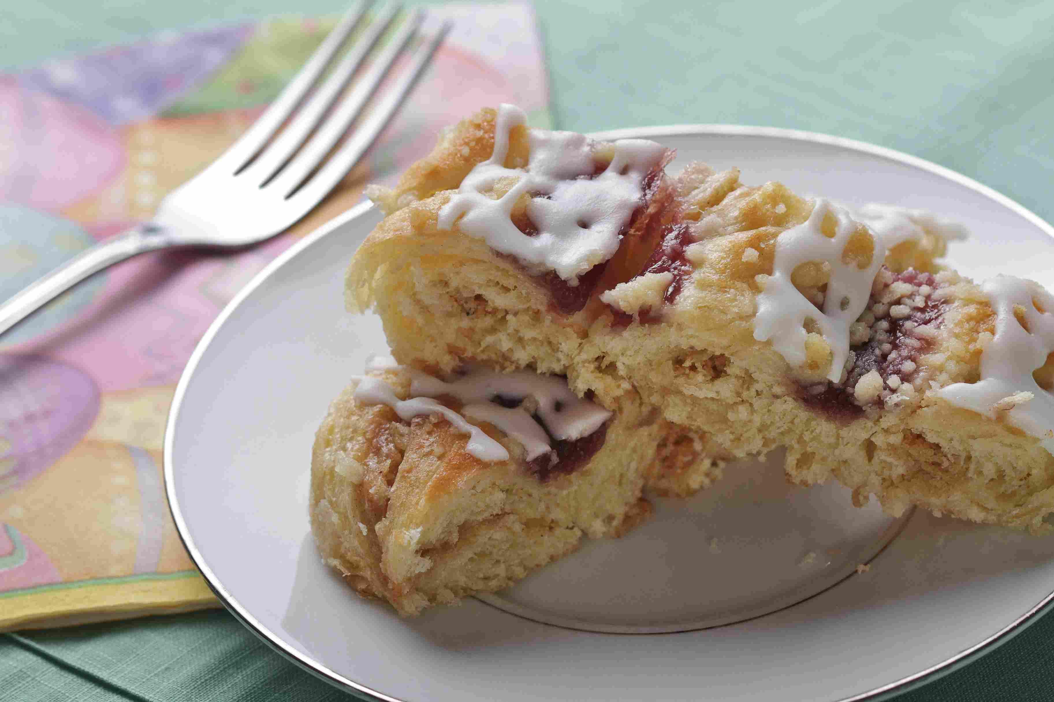 Raspberry Coffeecake
