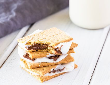 Baked S'mores recipe