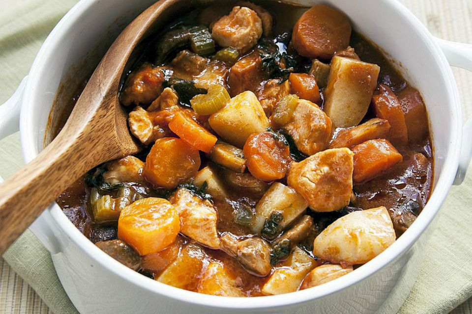 Crockpot Sweet and Sour Chicken Stew