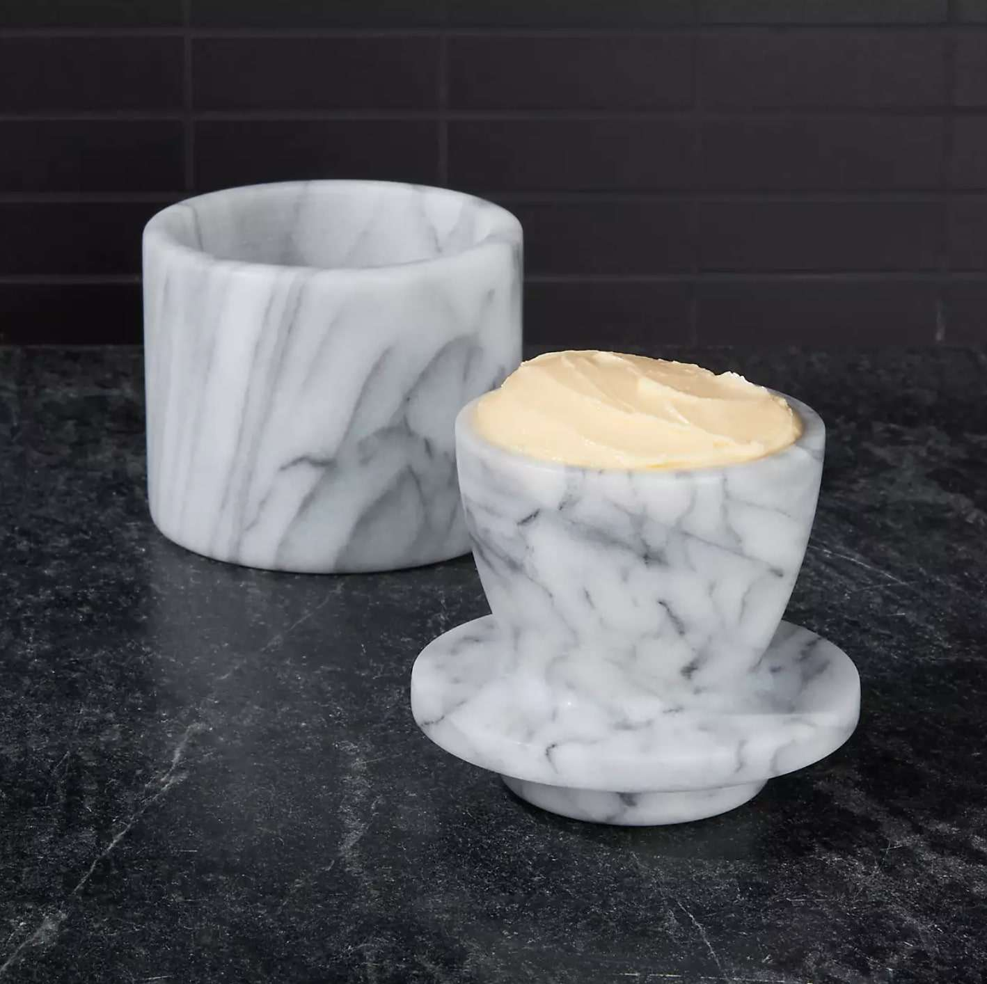 crate-and-barrel-french-marble-butter-keeper
