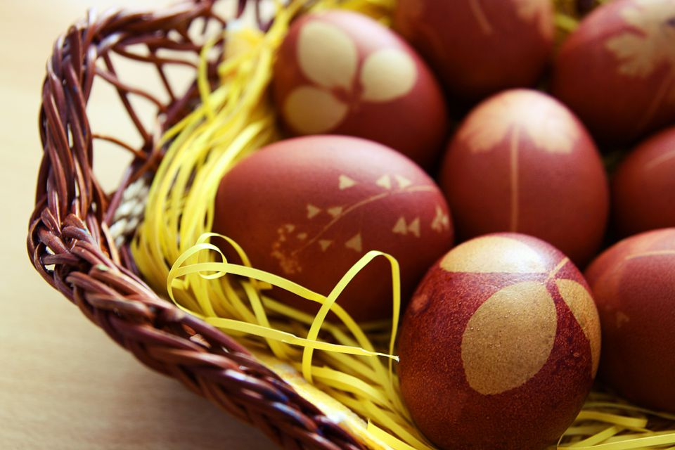 serbian orthodox easter eggs