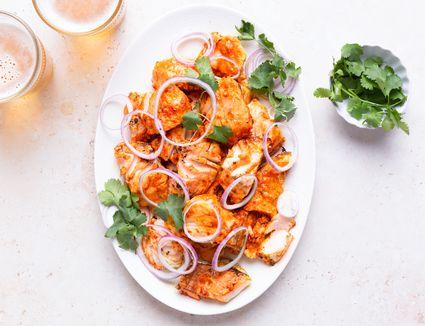 Grilled Tandoori Cod