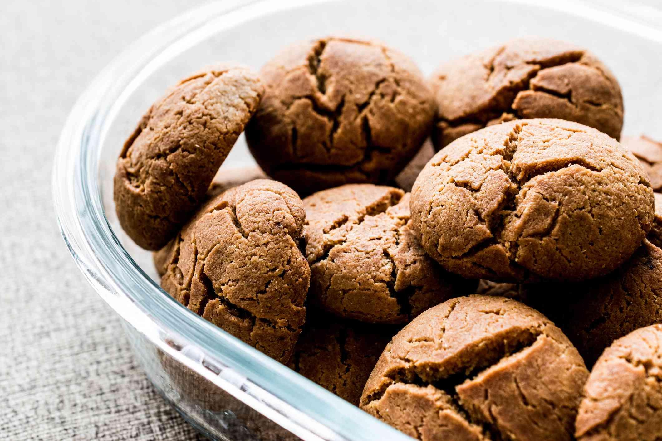 Einkorn wheat cookies