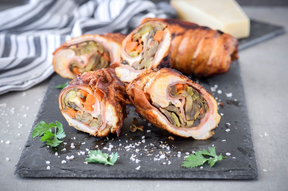 Turkey breast roulade mushroom stuffing recipe