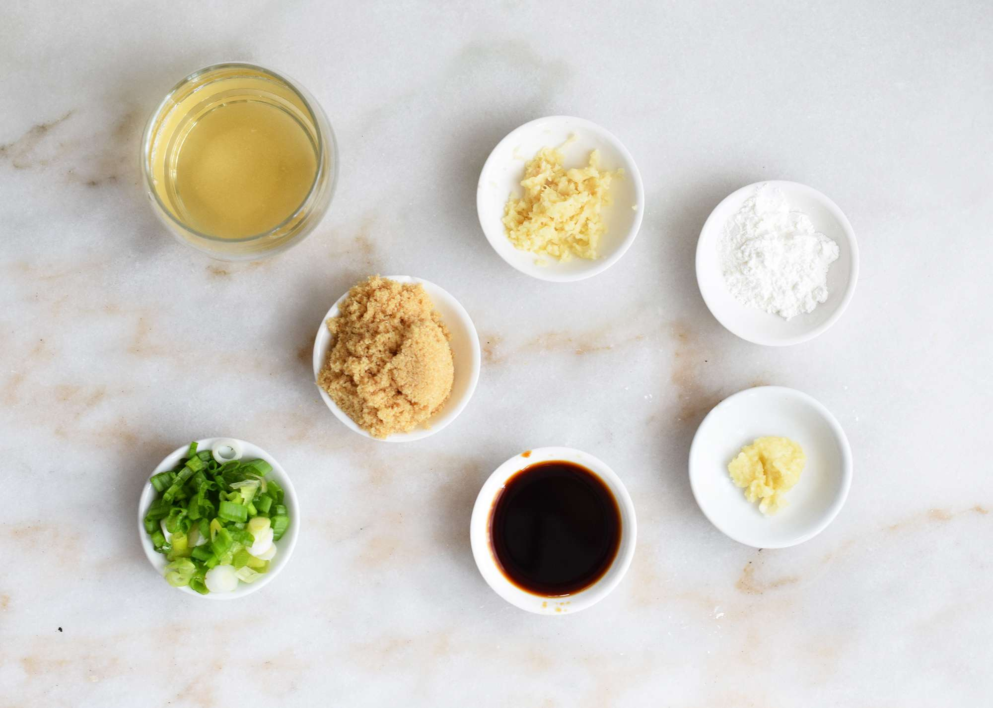 ingredients for sweet soy sauce