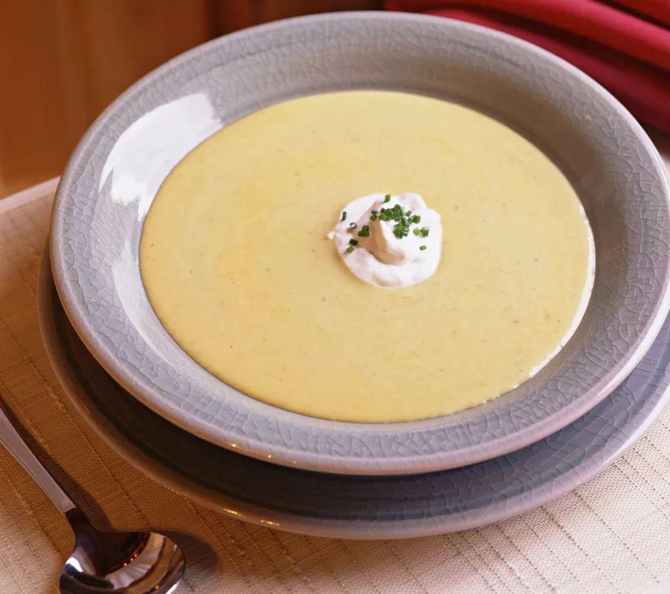 Vegetarian Acorn Squash Soup