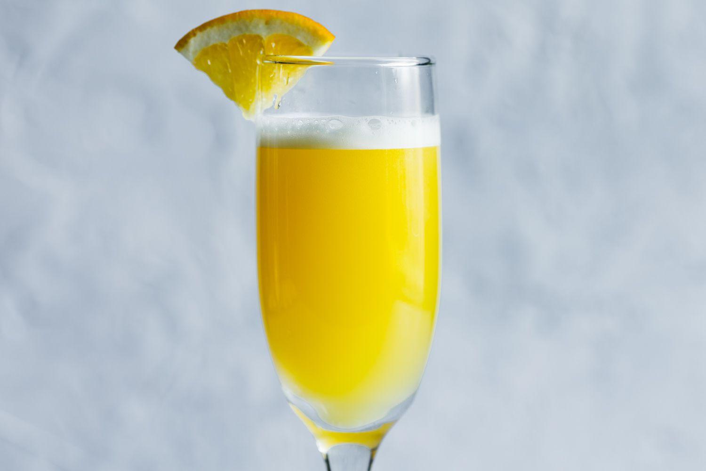 Mimosa Champagne Cocktail Recipe
