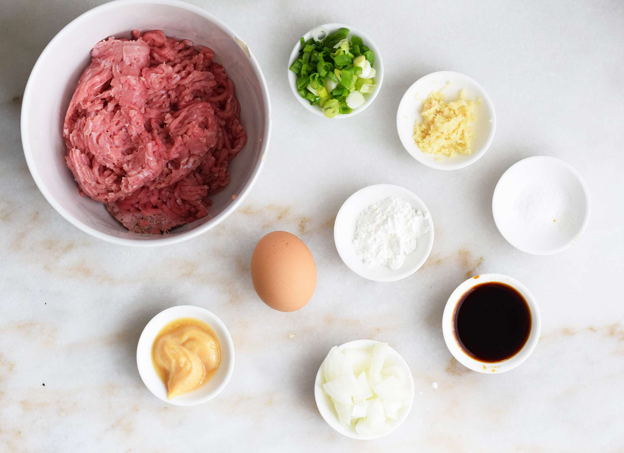 ingredients for tsukune