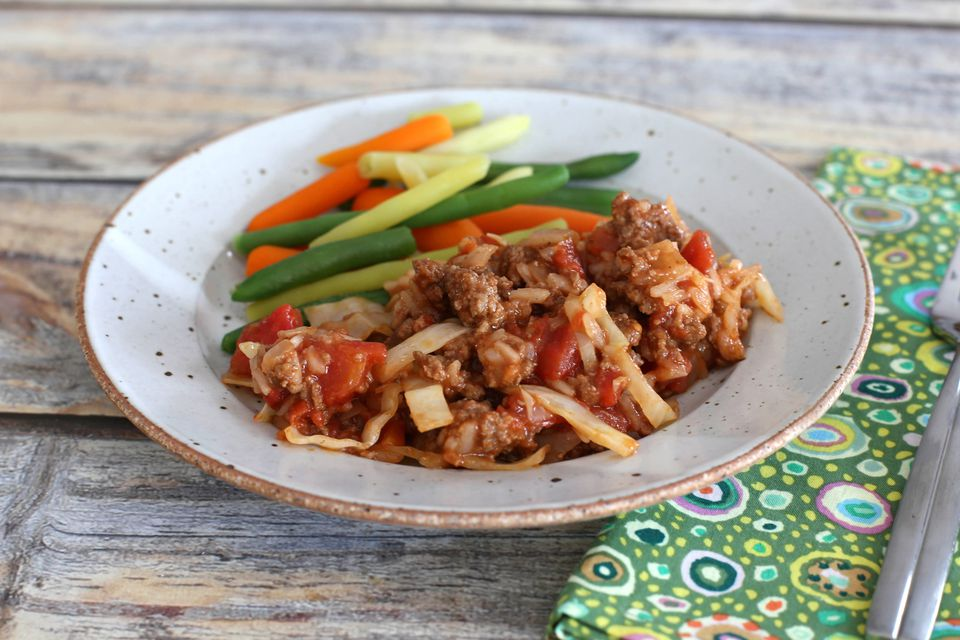 Easy Unstuffed Cabbage Skillet Meal