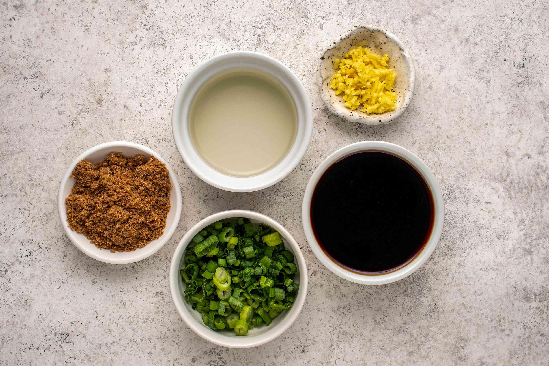 Ginger Sauce Recipe ingredients
