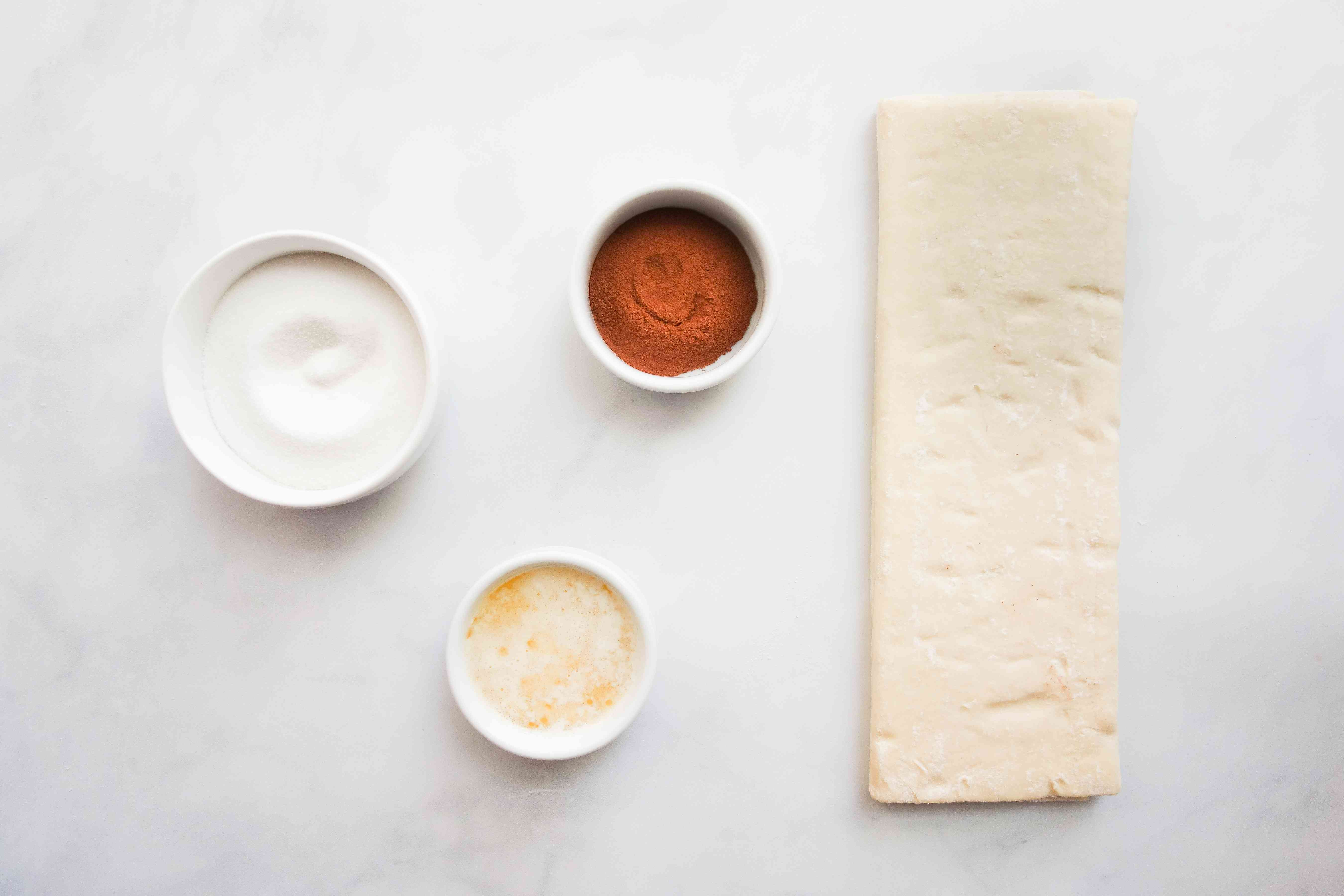 Puff Pastry Hearts ingredients