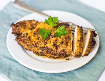 Cajun spiced chicken breast
