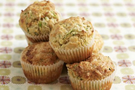 Zucchini Muffins With Shredded Carrot Recipe
