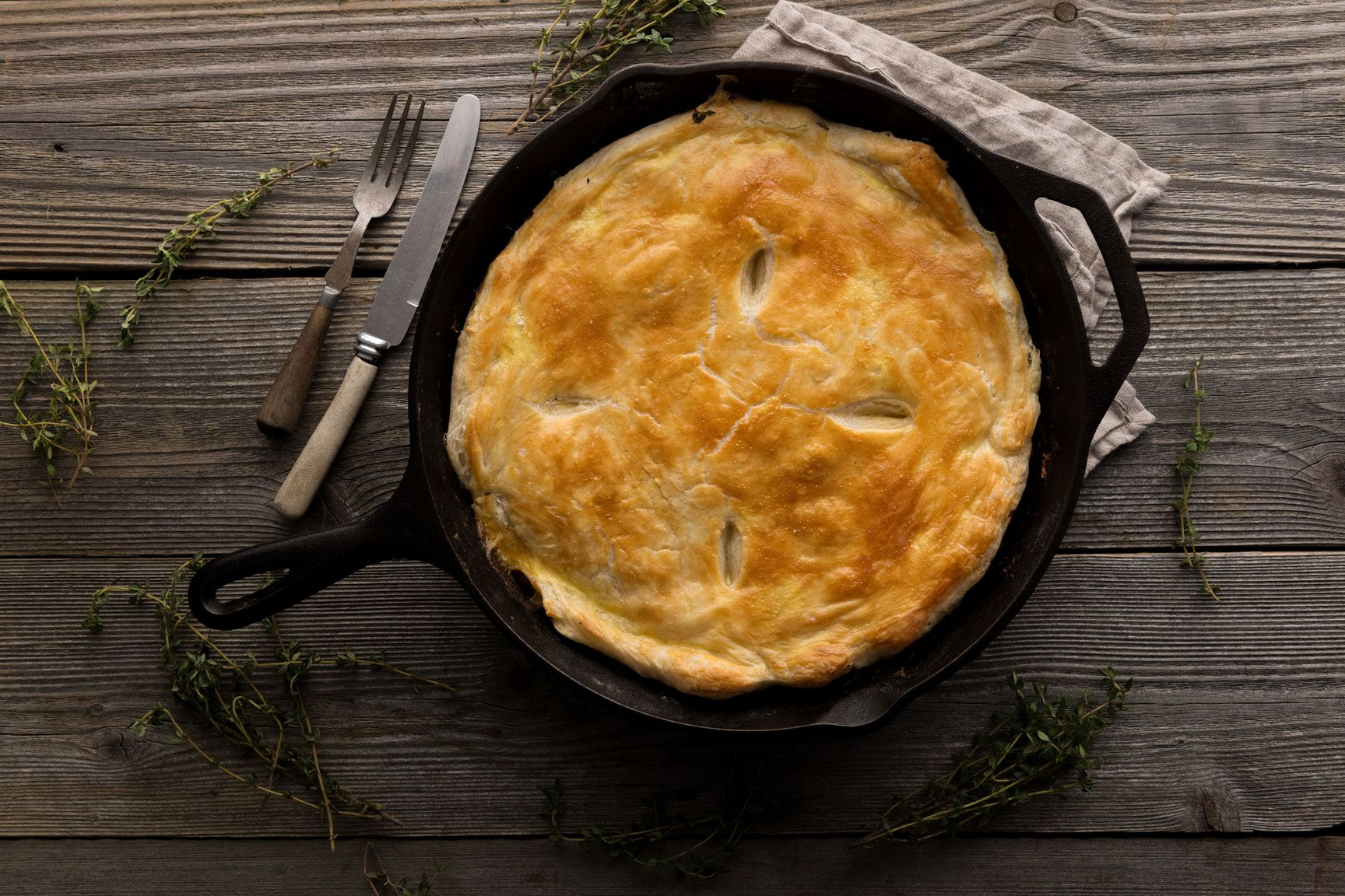 Kurnik Russian Chicken Pie Recipe