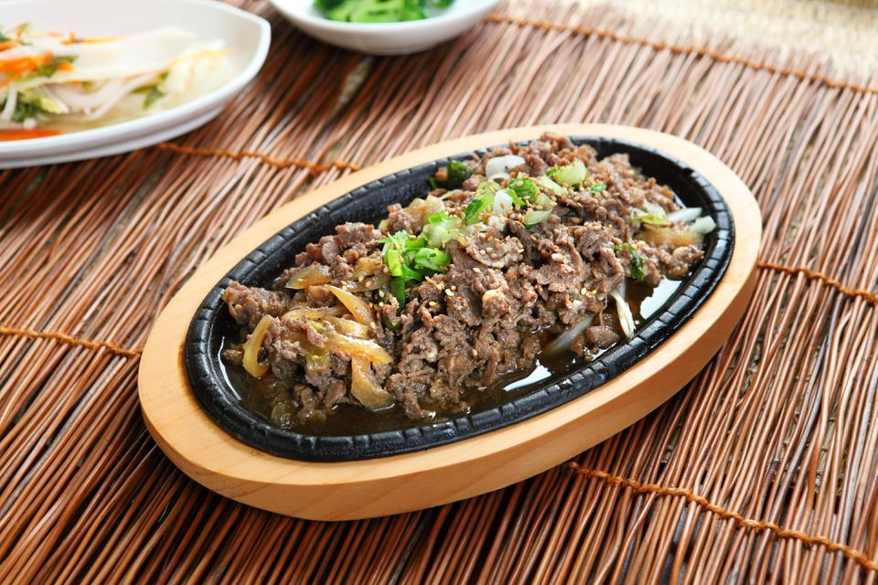 Marinated bulgogi