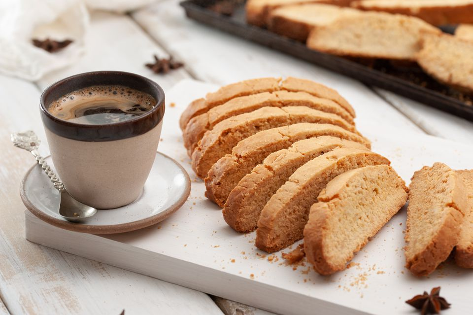 Double anise biscotti recipe