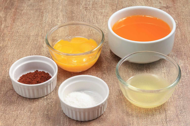 Hollandaise Sauce Recipe ingredients