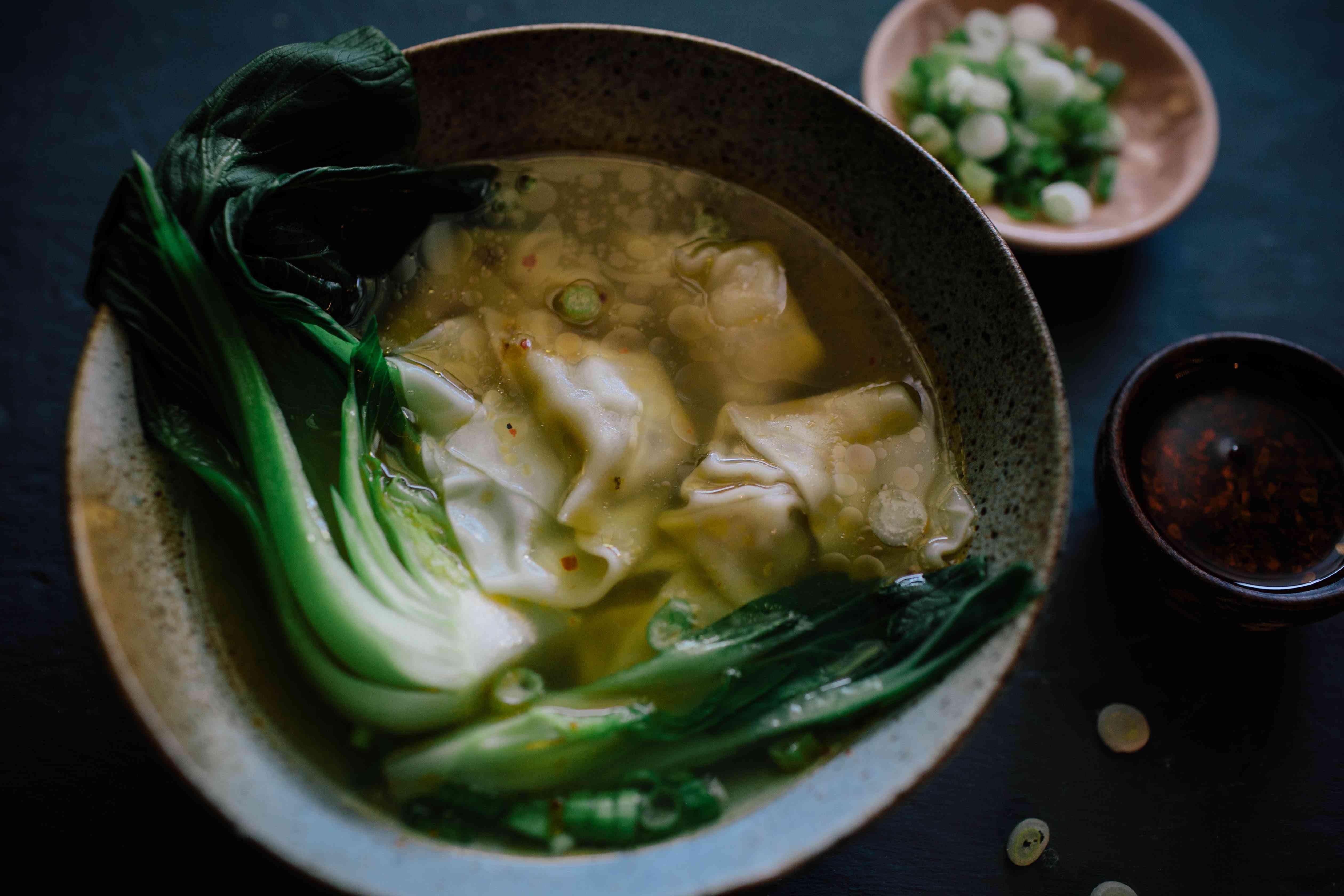 enjoy Wonton Soup
