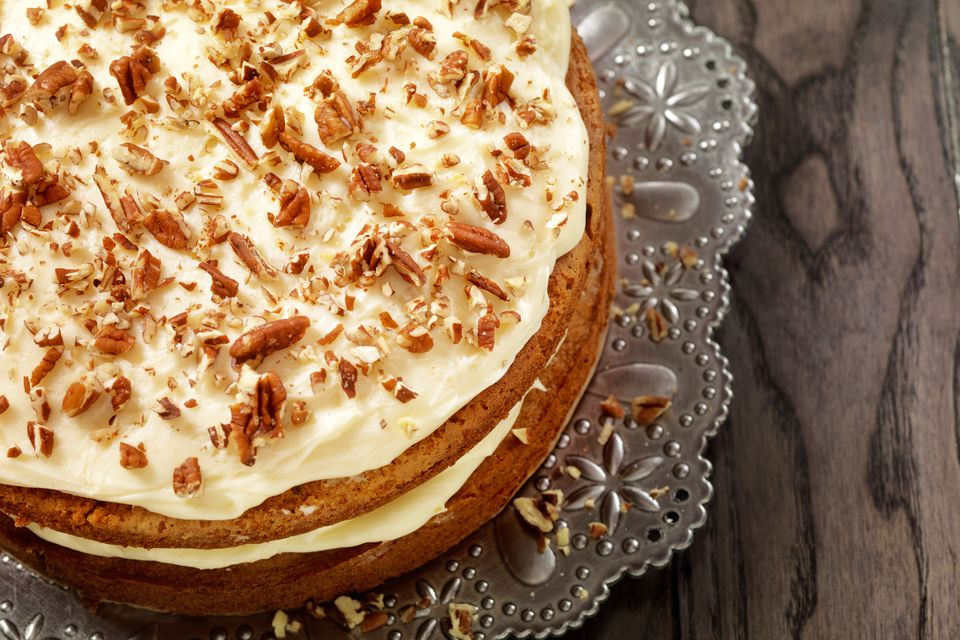 Layer Cake With Pecans