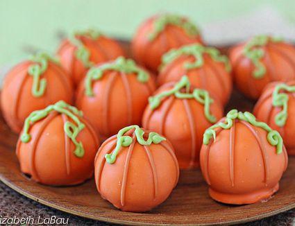 Pumpkin Spice Truffles
