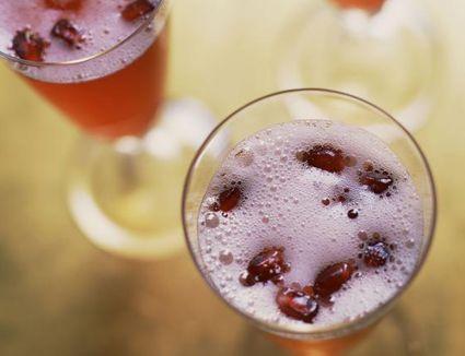 Stunning Pomegranate Cocktails