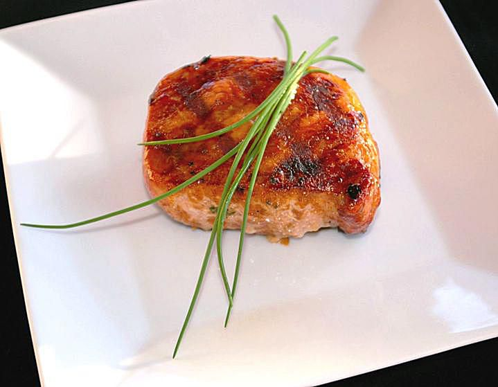Garlic Honey Pork Chops