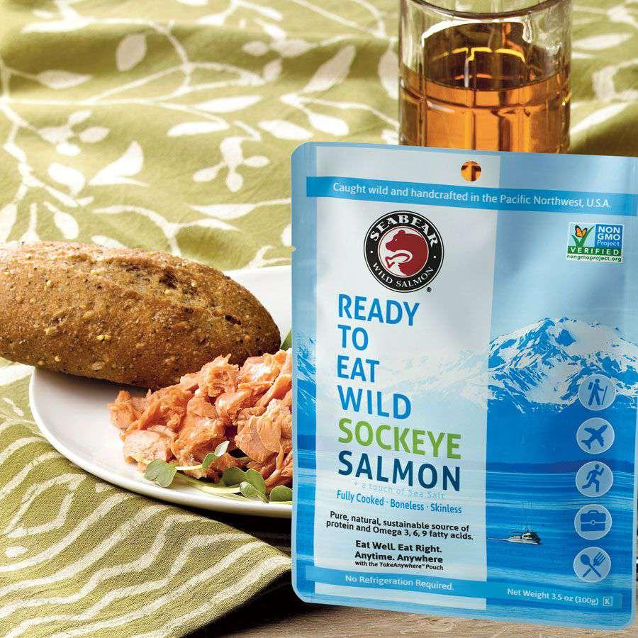Ready-to-Eat Wild Sockeye Salmon