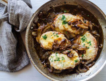 French Onion Pork Chops Recipe
