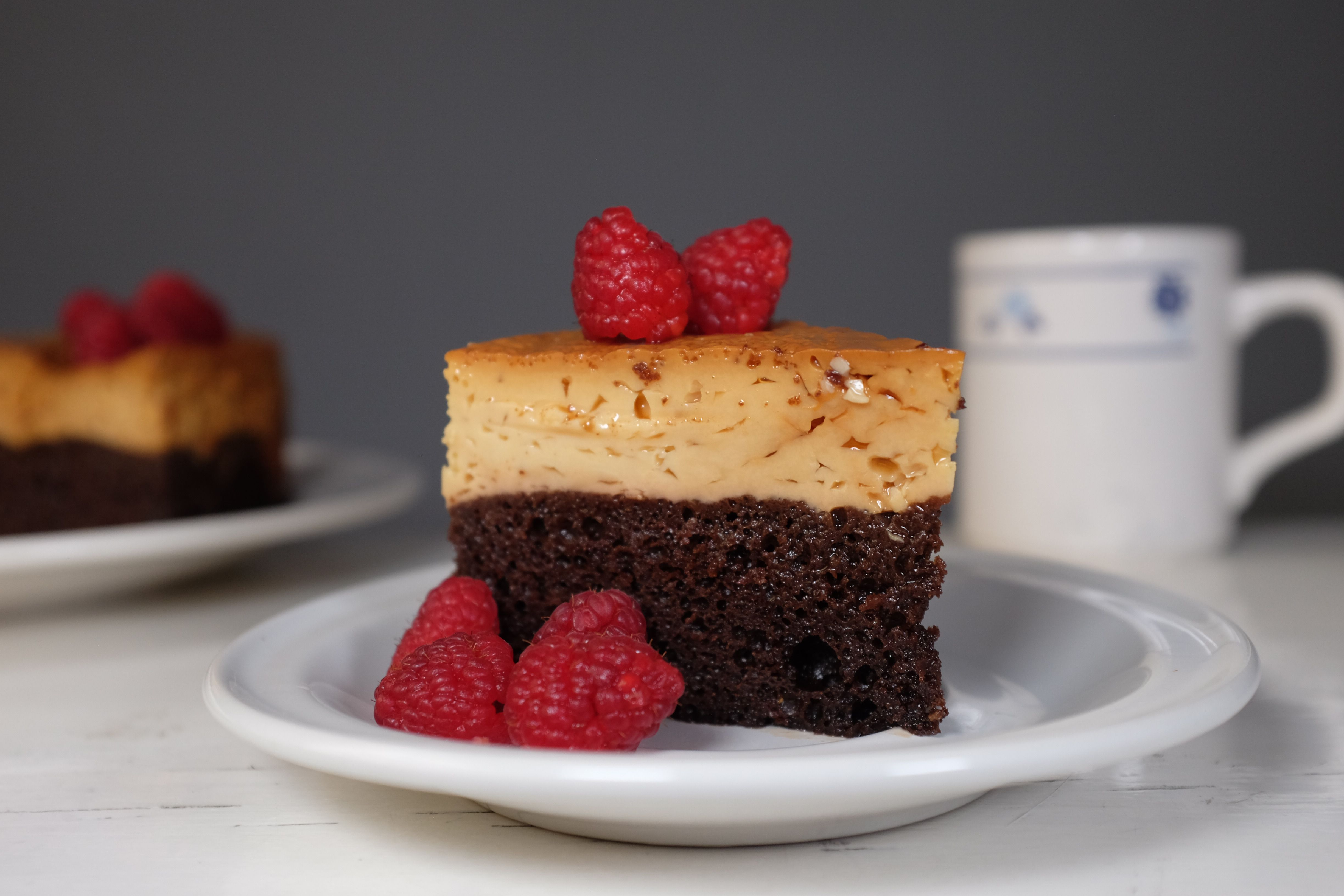 Chocoflan is for when you can't decide between flan and brownie.